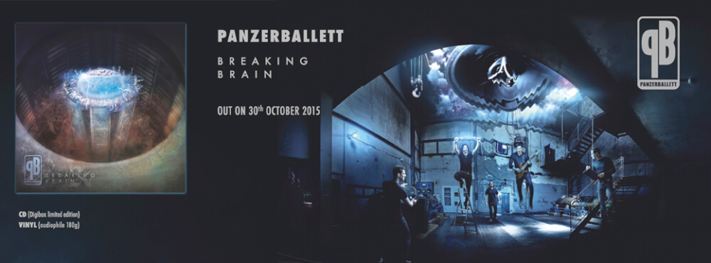 Panzerballett Breaking Brain Header