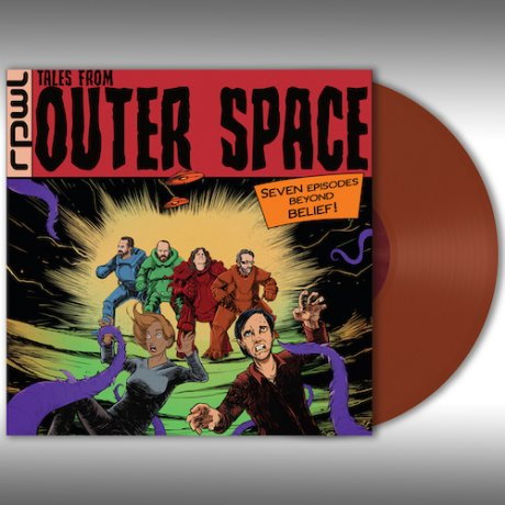 RPWL | TALES FROM OUTER SPACE | Orange Vinyl