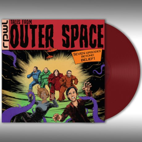 RPWL | TALES FROM OUTER SPACE | Red Vinyl